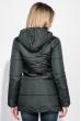 Куртка женская с капюшоном 71PD0004-1 бутылочный