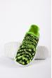 Кроссовки женские 11P1703 черно-салатовый