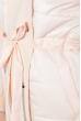 Пальто женское демисезоннное, с капюшоном  69PD1048 персиковый