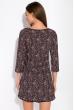 Ночная женская сорочка 107P13-3 черно-розовый / принт