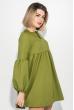 Платье женское рукав фонарик, короткое 72PD202 фисташковый