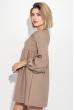 Платье женское рукав фонарик, короткое 72PD202 капучино