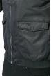 Куртка мужская с воротником из искусственного меха 178V001 черный