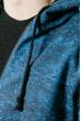 Батник спортивный 310F001-1 серо-голубой