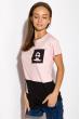 Футболка женская 317F072 розовый