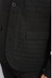 Пиджак мужской строгий 197F023 черно-зеленый