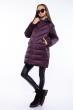 Куртка женская на молнии 120PSKL1921 баклажан