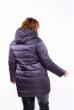 Куртка женская на молнии 120PSKL1921 серо-фиолетовый