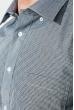 Рубашка мужская в клетку  50PD2113-2 черно-белый