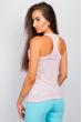Майка женская пастельные оттенки 305MV033 розовый варенка
