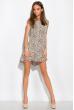 Платье с удлиненной спинкой 120PRAA1280 молочно-коричневый