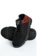 Кроссовки 11P095 черно-красный