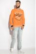 Батник 32P057 оранжевый варенка
