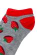 Носки женские  517F011-1 серо-красный