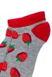 Носки женские  517F011-1 серо-бордовый