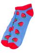 Носки женские  517F011-1 сине-красный