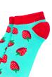 Носки женские  517F011-1 мятно-бордовый