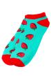 Носки женские  517F011-1 мятно-красный