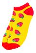 Носки женские  517F011-1 горчично-красный