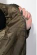 Куртка женская с капюшоном 677K007 хаки