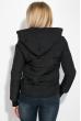 Куртка женская с капюшоном 677K007 черный