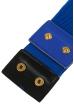 Ремень женский широкий на резинке 000KO057 электрик