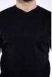 Джемпер однотонный 606F001 черный