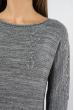 Свитер женский меланж 85F064 серый