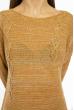 Свитер женский меланж 85F064 песочный