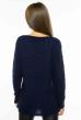 Свитер женский меланж 85F064 темно-синий