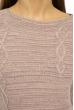 Свитер женский меланж 85F064 бледно-лиловый