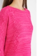 Свитер женский меланж 85F064 ярко-розовый
