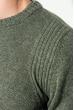 Джемпер мужской теплый 476F002 хаки