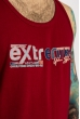 Майка Extreme 49 85F437 бордовый