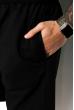 Костюм (поло и шорты) 159P101 черно-грифельный