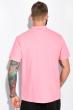 Костюм (поло и шорты) 159P101 розово-грифельный