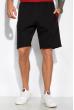 Костюм (поло и шорты) 159P101 бордово-черный