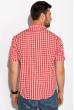Рубашка 511F019 красно-белый