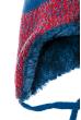 Шапка детская (для мальчика) «Мишка» 65PB13-016 junior сине-красный