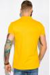Поло с контрастной полоской на воротнике 120PKE331 желтый