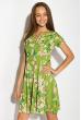 Платье женское 964K021 зеленый