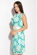 Платье женское 964K022 бирюзовый