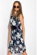 Платье женское 964K027 темно-синий