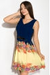 Платье женское 964K028 сине-желтый
