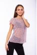 Блуза женская 118P148 серо-розовый