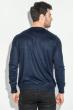 Джемпер мужской с кнопками на вырезе 50PD485 темно-синий