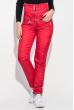 Костюм женский однотонный,теплый 69PD1063 красный