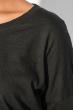Джемпер женский удлиненный 953K003 черный