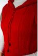 Жилетка женская удлиненная 120PDNK015 красный