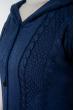 Жилетка женская удлиненная 120PDNK015 синий